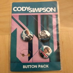 Cody Simpson button pack
